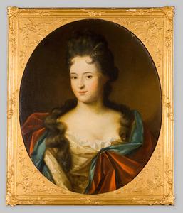 Portret van een vrouw, mogelijk Elisabeth van Thije (1672-1706)
