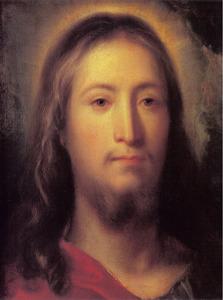 Portret van Jezus Christus