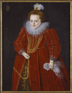 Portret van Catharina van Arkel (....-1626)