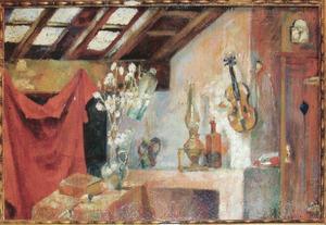Het atelier van de kunstenaar