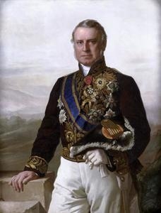 Portret van Charles Ferdinand Pahud de Mortanges (1803-1873)