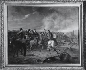 De Prins van Oranje na zijn verwonding in de Slag bij Waterloo, 18 juni 1815
