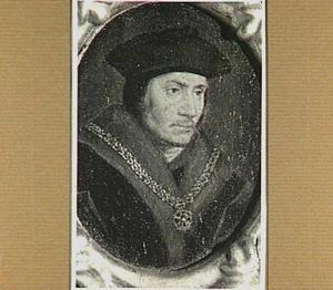 Portretminiatuur van Thomas More (1478-1535)