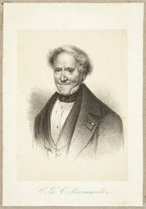 Portret van Coenraad Jacob Temminck (1778-1858)