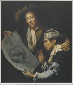 Allegorie op de Franse invasie van 1672  (' Het Rampjaar')