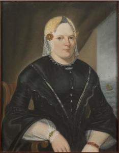 Portret van Akke Ages Tromp (1820-1887)