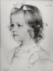 Portret van Agatha Eleonore ('Nora') van Rappard (1904-1984)