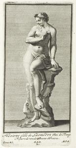 Hesione, dochter van Laomedon, koning van Troje, aan de rots geketend (pl. L)