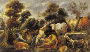 Mercurius doodt Argus (Ovidius, Met.I, 568-721)