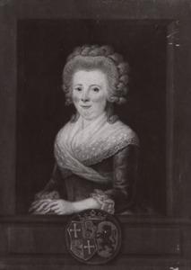 Portret van Agneta Theodora van Teylingen (1755-1834)
