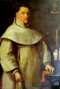 Portret van een  R.K. geestelijke