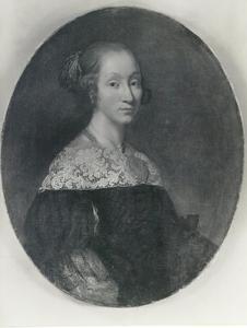 Portret van Cathrine Schumacher (1644-1690), echtgenote van Jørgen Fogh (1631-1685)
