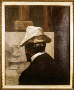 Portret van Joannes Deodatus Waller (1844-1921)