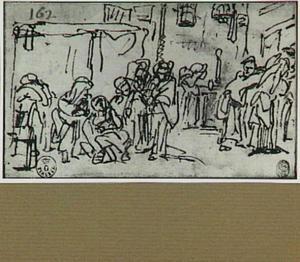 Ongeïdentificeerde scene in een interieur