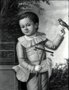 Portret van een jongen, waarschijnlijk Pieter Cornets de Groot (1773-1795)