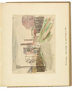 Montrouge, Nebenstrasse der Route d'Orleans. 1931 (authentiek]