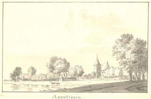 Gezicht op het dorp Appeltern