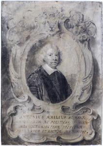 Portret van Antonius Aemilius (1589-1660)