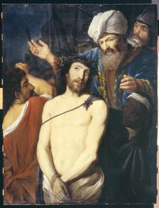 Christus met de doornenkroon voor herodes