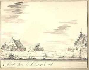 Harderwijk, de Grote Poort anno 1607