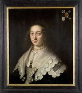 Portret van Maria van Hogendorp (....-1659)