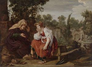 Vertumnus en Pomona (Metamorfoses 14:623-697 & 765-771)