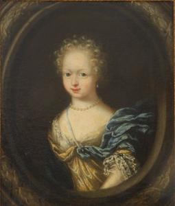 Portret van Leonharda Amalia Torstensson