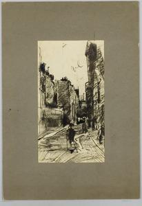 Een straatje in Parijs