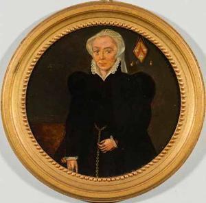 Portret van een vrouw uit de familie Warlingcourt (....-1580)