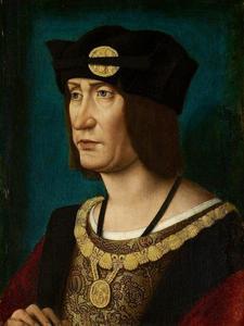 Portret van Louis XI (1462-1515), koning van Frankrijk
