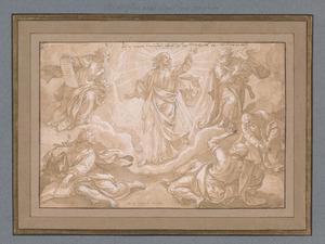 De transfiguratie van Christus op de berg Thabor