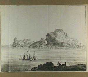 Het eiland Crape (= Capri?)