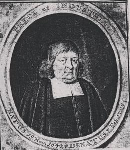 Portret van Joannes van Duren (1642-1709)