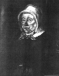 Portret van Jacomina Ruyssenaers (1791-1864)