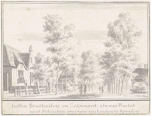 Zegwaartseweg tussen Benthuizen en Zegwaart, bij Zoetermeer