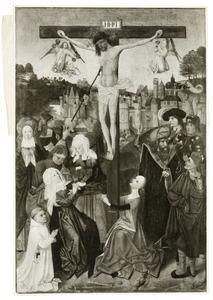 De kruisiging met stichter