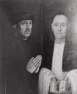 Dubbelportret van Adriaan Hallincq (1496-....) en Willem Hallincq (1499-....)