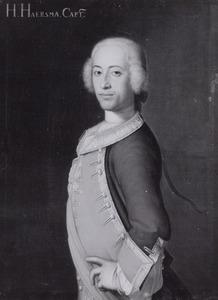 Portret van Hans Hendrik van Haersma ( -1757)