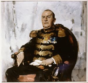 Portret van Willem van Limburg Stirum (1889-1958)