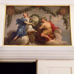 Diana en Bacchus