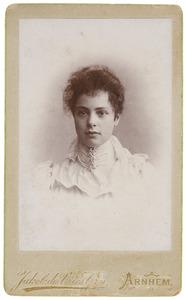 Portret van Claudine Johanna Riesz (1872- )