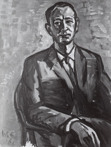Portret van Hendrik Johannes Adrianus Hofland (1927- )