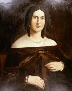 Portret van Johanna Helb (1801-1886)