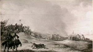 Cavaleriegevecht in de duinen
