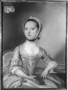 Portret van Lucretia de Monte (1752-1784)