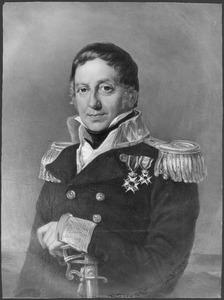 Portret van James John (1776-1837), baron Melvill van Carnbee