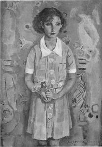 Portret van Elisabeth Francisca van Lier (1925-2016)