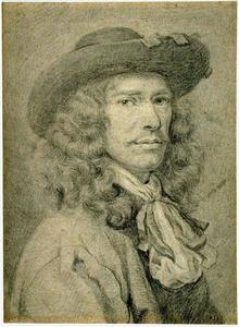 Zelfportret van Walelrant Vaillant (1623-1678)