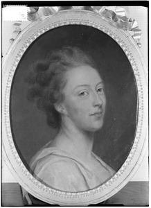 Portret van Isabella Agneta Elisabeth van Tuyll van Serooskerken (1740-1805), genaamd 'Belle van Zuylen'