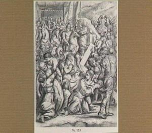 Christus met het kruis en de H. Veronica